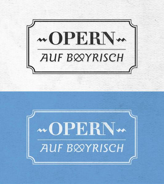 OpernAufBayrisch Logo